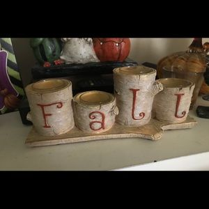 Accessories - Yankee candle fall candle holder